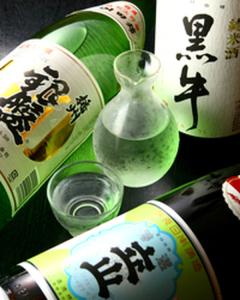 日本酒豊富